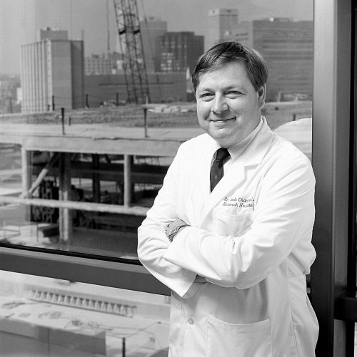 Arthur Nienhuis, MD, St. Jude CEO