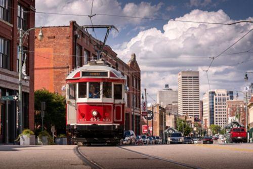 Downtown Memphis Trolley