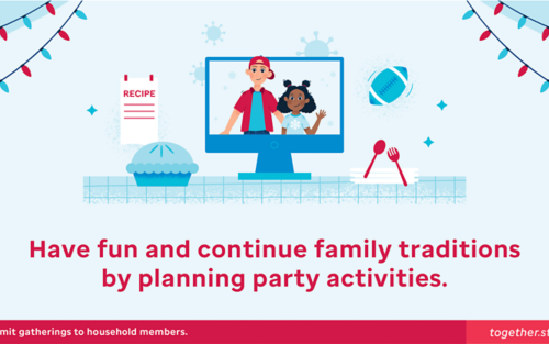 Have fun and continue family traditions by planning party activities.