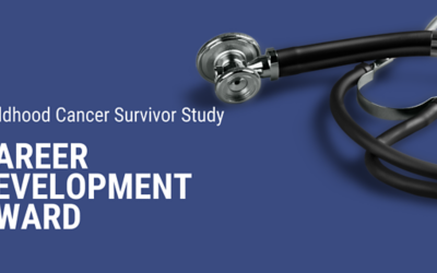 Interested in childhood cancer survivorship research? Apply now for support to get started