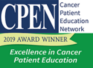 CPEN Excellence in Cancer Patient Education 2019 Award Winner