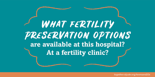 Which fertility preservation options are available at this hospital? At a fertility clinic?