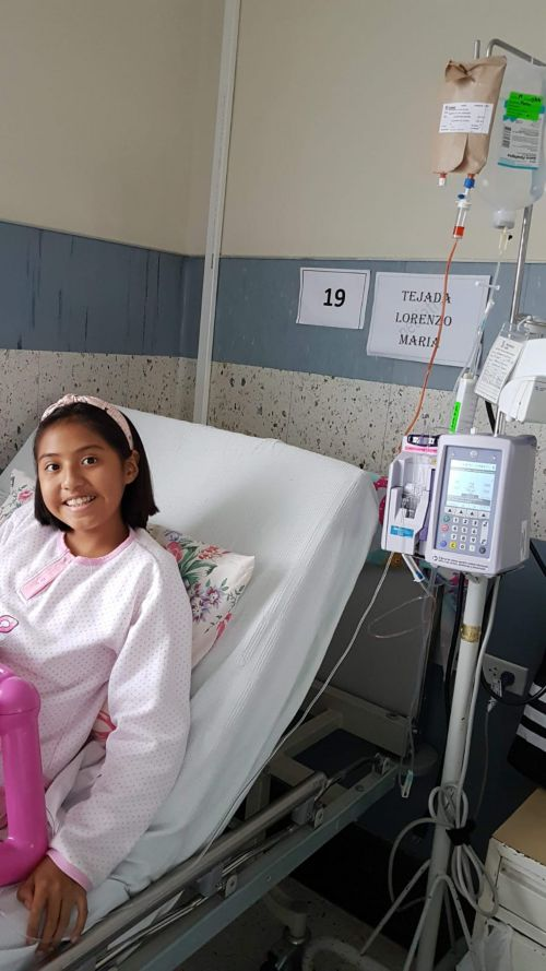 Ese día al medio día, el Dr. Hernández, quien fue mi oncólogo pediátrico, me examinó y explicó cómo sería mi tratamiento. Fue en ese momento entonces que supe que tenía leucemia.