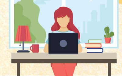 Ten tips to stay organized when working from home