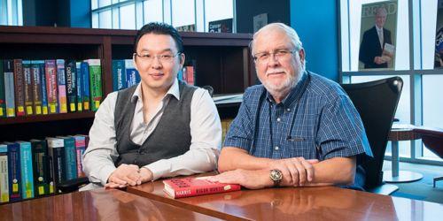 Photo of Jiangwei Yao, PhD, and Charles Rock, PhD
