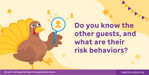 Do you know the other guests, and what are their risk behaviors?