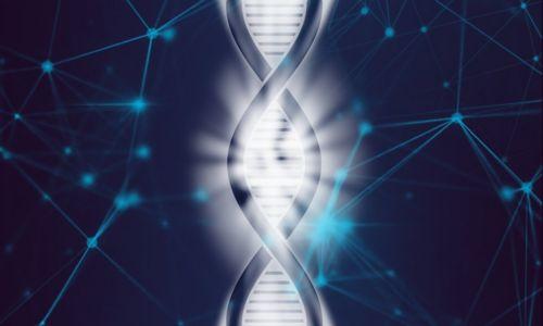 Illustration of DNA helix