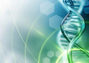 Illustration of DNA strand