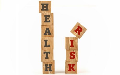 Building blocks that spell out Health Risks