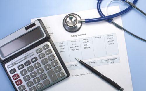 image of medical bill