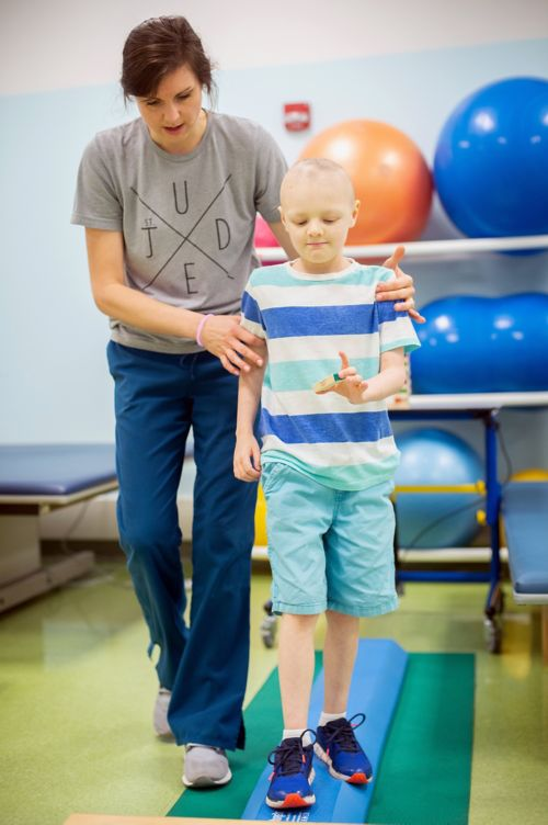 Outpatient physical therapy (outpatient PT) consists of a series of visits to a clinic in a hospital or to a stand-alone facility separate from a hospital.