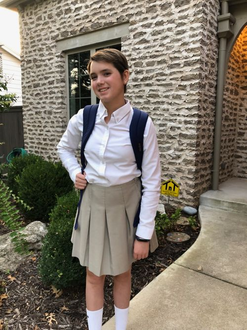 """""""It took time, and a lot of it, but I felt ready to put myself out there and walk into high school confident in myself."""""""