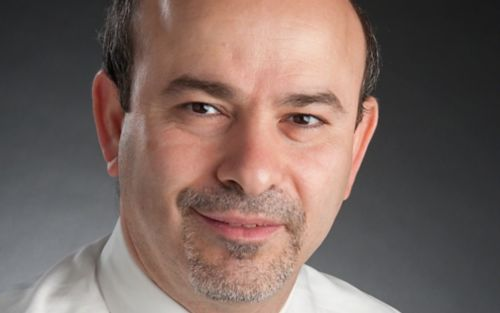 Portrait of Ibrahim Qaddoumi