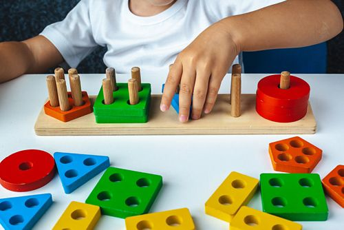 Visual motor skills involve the ability to perceive and interpret visual information and coordinate the appropriate movement response.