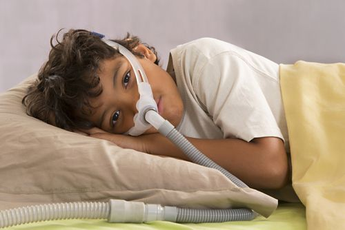 Continuous Positive Airway Pressure or CPAP is a common treatment for obstructive sleep apnea.