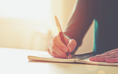 Writing down your thoughts and feelings – whether on paper, computer, or other device – may help you process and deal with them.