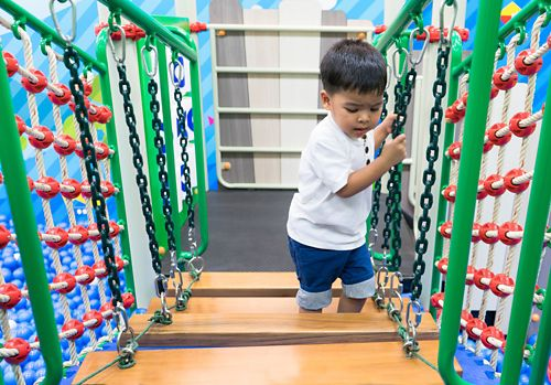Gross motor skills are movements involving large muscle groups of the arms, legs, and trunk.