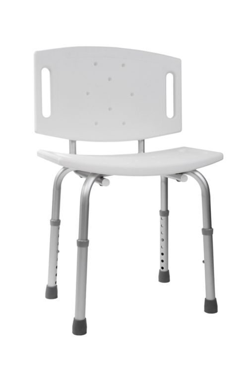•	A shower chair placed in a shower stall or bathtub can help patients conserve energy while bathing.