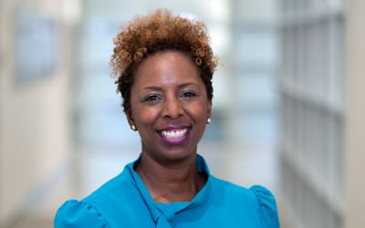 Andrea Stubbs points to finding her niche while working to address youth HIV acquisition and transmission, and plans to use those same skills to increase HPV vaccinations.